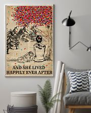 Dictionary Girl Happily Ever Bulldog 11x17 Poster lifestyle-poster-1