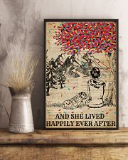 Dictionary Girl Happily Ever Bulldog 11x17 Poster lifestyle-poster-3