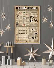 Triathlon Knowledge 16x24 Poster lifestyle-holiday-poster-1