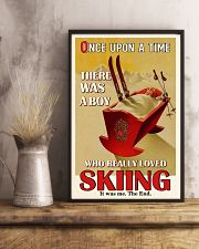Once Upon A Time A Boy Loved Skiing 16x24 Poster lifestyle-poster-3