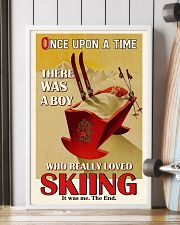 Once Upon A Time A Boy Loved Skiing 16x24 Poster lifestyle-poster-4