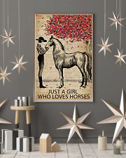 Vintage Dictionary Who Loves Horses 11x17 Poster lifestyle-holiday-poster-1