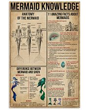 Mermaid Knowledge 16x24 Poster front