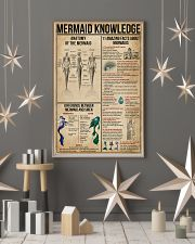 Mermaid Knowledge 16x24 Poster lifestyle-holiday-poster-1