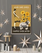 Sunflower Vintage Happily Old English Sheepdog 11x17 Poster lifestyle-holiday-poster-1