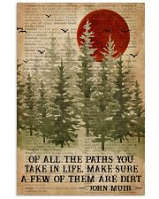 Camping Of All The Paths You Take 16x24 Poster front