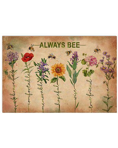 Vintage Flower Meaning Always Bee