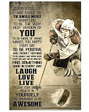 Hockey Today Is Good Day 11x17 Poster front