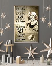 Hockey Today Is Good Day 11x17 Poster lifestyle-holiday-poster-1