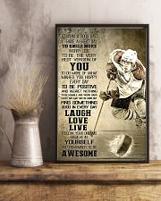 Hockey Today Is Good Day 11x17 Poster lifestyle-poster-3