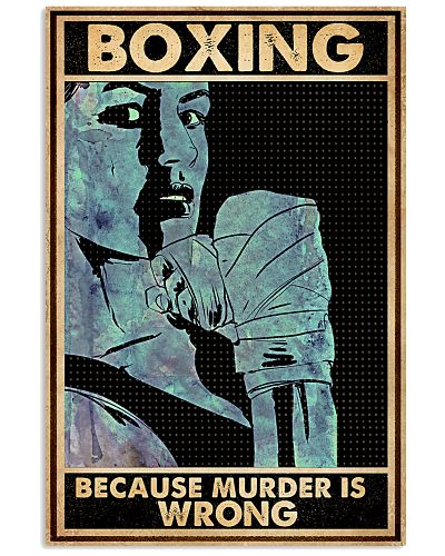 Boxing Because Murder Is Wrong