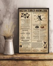 Boston Terrier Knowledge 11x17 Poster lifestyle-poster-3