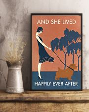 Vintage Girl Lived Happily Norfolk Terrier 11x17 Poster lifestyle-poster-3