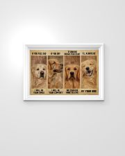 Golden Retriever If You Feel Sad 24x16 Poster poster-landscape-24x16-lifestyle-02