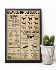 Knowledge Poster Beagle 11x17 Poster lifestyle-poster-8