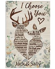 Personalized Deer I Choose You 16x24 Poster front
