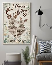 Personalized Deer I Choose You 16x24 Poster lifestyle-poster-1