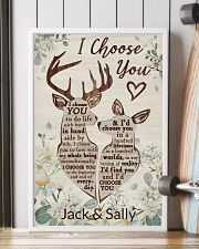 Personalized Deer I Choose You 16x24 Poster lifestyle-poster-4