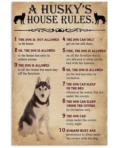 The Dog House Rules Husky