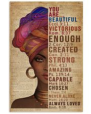 You Are Beautiful Black Girl Dictionary 11x17 Poster front