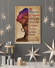 You Are Beautiful Black Girl Dictionary 11x17 Poster lifestyle-holiday-poster-1
