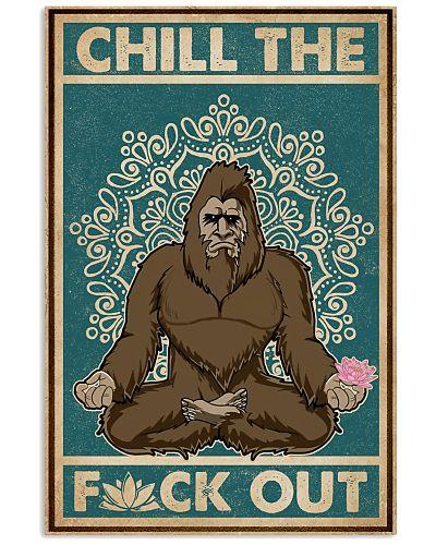 Retro Chill The Bigfoot Yoga