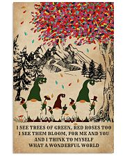 Spring Gnomes I See Trees Of Green 11x17 Poster front