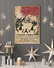 Spring Gnomes I See Trees Of Green 11x17 Poster lifestyle-holiday-poster-1