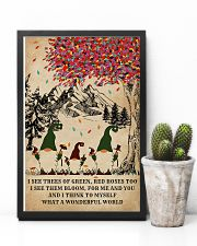 Spring Gnomes I See Trees Of Green 11x17 Poster lifestyle-poster-8