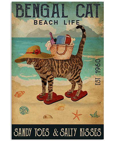 Beach Life Sandy Toes Bengal Cat