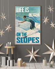 Life Is Better On The Slopes Skiing 16x24 Poster lifestyle-holiday-poster-1