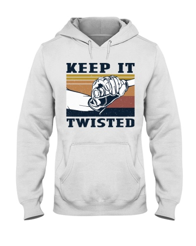 Retro Navy Keep It Twisted Motorcycling