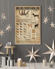 Irish Wolfhound Knowledge 16x24 Poster lifestyle-holiday-poster-1