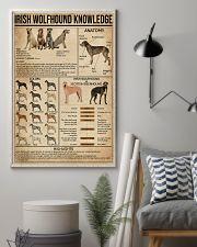 Irish Wolfhound Knowledge 16x24 Poster lifestyle-poster-1