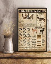 Irish Wolfhound Knowledge 16x24 Poster lifestyle-poster-3