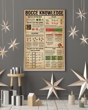 Bocce Knowledge 11x17 Poster lifestyle-holiday-poster-1