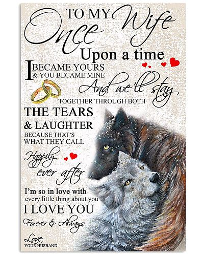 One Upon A Time To My Wife From Wolf Husband