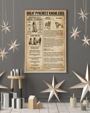 Great Pyrenees Knowledge Dog 11x17 Poster lifestyle-holiday-poster-1