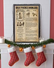 Great Pyrenees Knowledge Dog 11x17 Poster lifestyle-holiday-poster-4