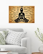 I Am Yoga 24x16 Poster poster-landscape-24x16-lifestyle-01