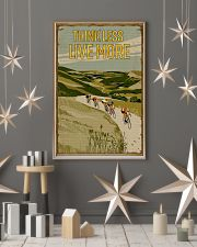 Think Less Live More Cycling 11x17 Poster lifestyle-holiday-poster-1