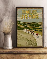 Think Less Live More Cycling 11x17 Poster lifestyle-poster-3