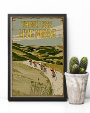 Think Less Live More Cycling 11x17 Poster lifestyle-poster-8