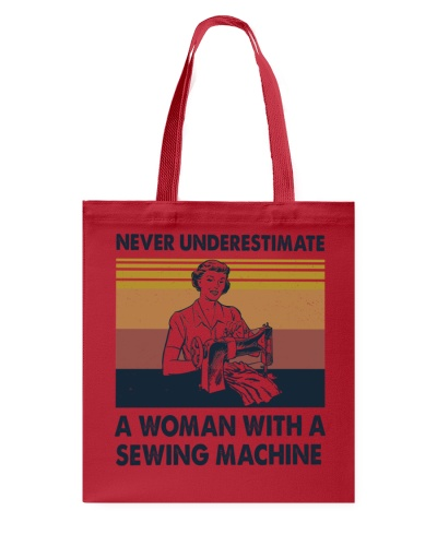 Never Underestimate Sewing