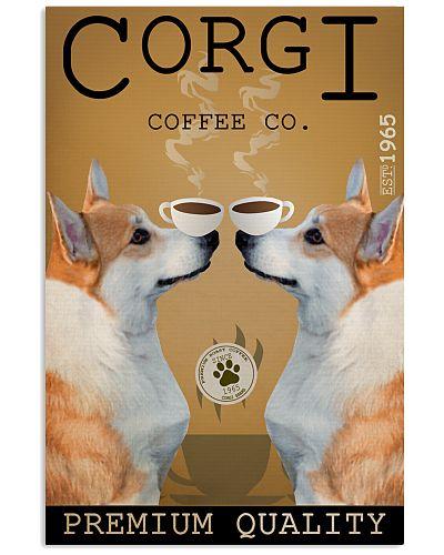 Double Dog Coffee Corgi