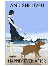 Beach And Dog Cocker Spaniel 11x17 Poster front