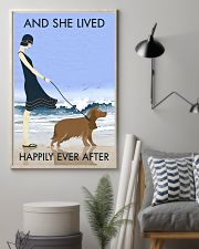 Beach And Dog Cocker Spaniel 11x17 Poster lifestyle-poster-1
