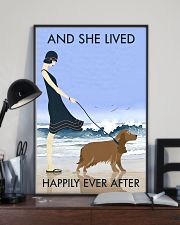 Beach And Dog Cocker Spaniel 11x17 Poster lifestyle-poster-2