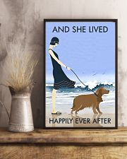 Beach And Dog Cocker Spaniel 11x17 Poster lifestyle-poster-3