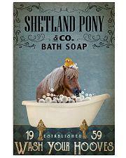 Vintage Bath Soap Shetland pony 11x17 Poster front